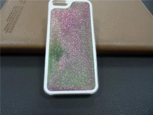 China liquid luminous and creative quicksand mobile phone protective case for iphone5/5S on sale