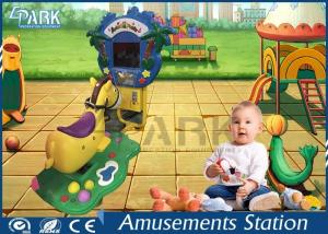 China Elephant / Dinosaur Coin Operated Amusement Kids Ride Machines on sale