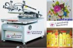 LC-8012G/6090G flat Microcomputer High precision screen printing machine paper,plastic, glass, ceramics, metal, textile
