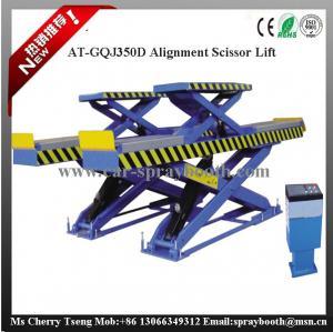 China AT-GQJ350D Double Level Height Portable Scissor Car Lift ,Platform Scissor Lift,Car Lifter on sale