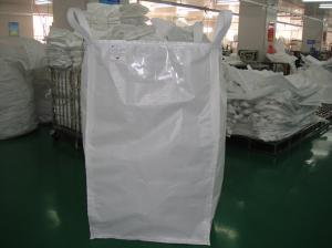 Grain 4 Loops Food Grade Fibc Bag Big Bags For Factory Packing Rice