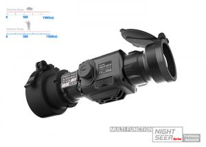 China Multi Function Thermal Clip On With 1500m Detection Range And Best Image Definition on sale
