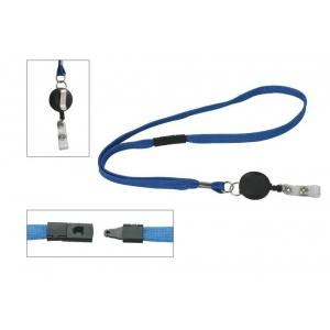 China leather id card holder lanyard on sale