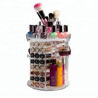 China Clear Fashion Acrylic Cosmetic Display Rotating Acrylic Lipstick Organizer on sale