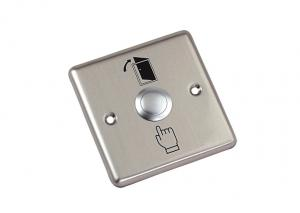 China 36V DC Stainless Steel Exit Door Release Push Button Electronic Keyless Locks on sale