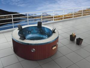 Monalisa M 3329 Round Circular SPA Hot Tub Romantic Whirlpool Outdoor SPA  Tub Best Selling SPA Tub Hotel Home Garden