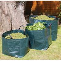 self standing plastic yard,lawn and leaf bags / reusable garden waste sacks,big bag/wholesale bulk bags/Garden Waste Sac