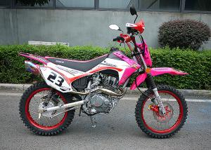 China Pink Color Lady Trail Bike Motorcycle 106KG Net Weight Electric / Kick Start on sale