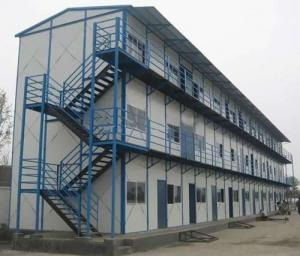 China light steel structure mulity storey prefab house for workers on sale