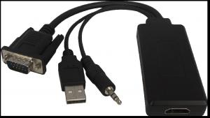 China 2014 New Products VGA TO HDMI Converter cable With audio on sale