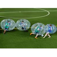 Outdoor Play Equipment Zorb Ball Football Inflatable Human Bubble Ball Soccer