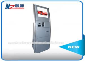 China Multifunction Digital Signage Bill Payment Kiosk With Bill Validator Credit Card Reader Optional on sale