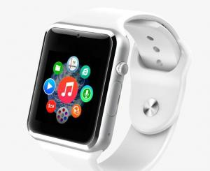 China Android  IOS Bluetooth Smart Wrist Watch Phone / Apple Smart Watches 350mAh Li-Polymer Battery on sale