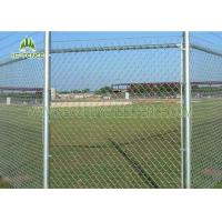 Pvc Coated Galvanized Chain Link Fencing For Wrights / Landscaping
