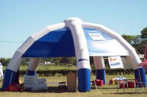 Quality Four Legs Inflatable Event Tents , Commercial Inflatable Dome Tent for sale