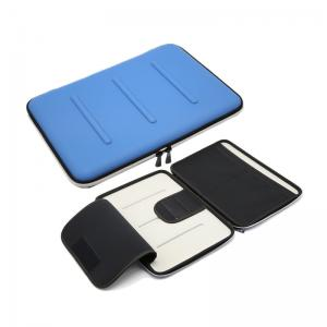 China Blue Custom Logo Laptop Carrying Case , Shockproof 11.6 Laptop Hard Case on sale