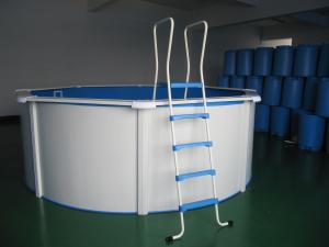 China SP4612B above ground swimming pool,  swim pool,  swim products, wall pool, steel, on sale