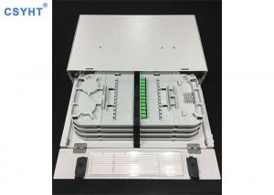 China 2U 48 Port Rack Mount Optical Distribution Frame ODF 19 21 Inches Cold Roll Steel on sale