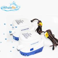 Whaleflo DC 24V 750GPH Head 4M Submersible Electric Small Auto Water Pump for Marine