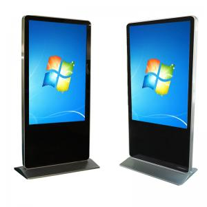 China Lobby Advertising Digital Signage Totem Touch Screen LCD Display Kiosk on sale