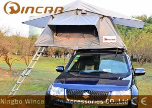 Waterpoof Overland Car Roof Top Tent For Camping , Popular Car Top
