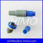 les séries 2 du connecteur P de lemo goupillent le connecteur en plastique