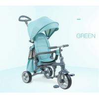 Easy Drag Folding Baby Tricycle Bike High Carbon Steel Frame For Kids