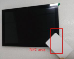 China LED status lights & NFC Reader Android System 10 Industrial POE Tablet PC Wall Bracket Mounted on sale