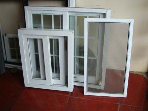 China monoblock aluminium door on sale