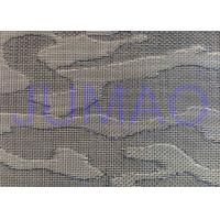 Stainless Steel 304 316 / Copper Laminated Metal Mesh Woven For Glass Art