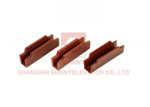 China Mitsubishi Elevator Boots Inch Series / Elevator Spare Parts 120mmx9mm /120mmx10mm on sale