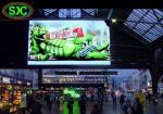 Indoor  p4.81 smd 250*250mm 52*52dots hoisting in stadium/ station/subway