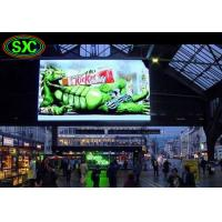 Stadium / Station Indoor P4.81 Smd Curtain Advertising LED Display 250*250mm