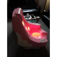 Smoked Pink Sit Infrared Therapy Machine For Meridian Massage