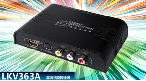 China LKV363A HDMI+Composite and S-video to HDMI Converter on sale