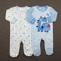 Warm Velour Romper Baby Winter Snowsuit Breathable Baby Onesie 2pcs Set New Born  Baby Clothes