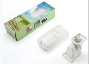 China Infrared PIR Motion Detector Outdoor Wireless With Pet Immunity IP65 Waterproof on sale