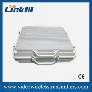China Full Duplex Outdoor Base Station Transceiver Video Sender Wireless on sale