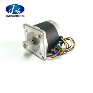 China Round Nema 23 Hybrid Stepper Motor 2.88kg.Cm - 14kg.Cm Can With Pulley , CE ROHS on sale