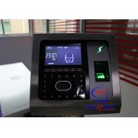 Professional Face Turnstile Security Systems , Fingerprint Attendance Machine
