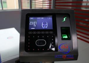 China Professional Face Turnstile Security Systems , Fingerprint Attendance Machine on sale