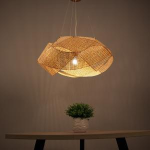 Rattan Lantern Pendant Lights For