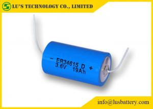 China High Power D Size Lithium Battery ER34615 3.6V Lithium 19000mah Capacity on sale