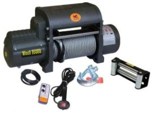 China 12v Electric Recovery Winch for Car 9500lb Manufacturer with CE on sale