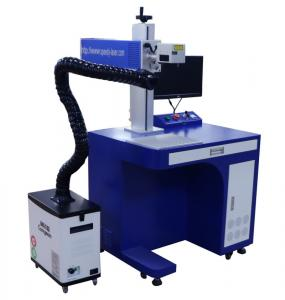 China 30W Power Desktop CO2 Laser Marking Machine For Wood Paper Rubber Ceramic Leather on sale