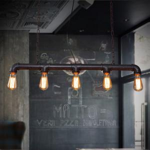 China Industrial suspended Hanging Lights For Bar Coffee Shope Lighting (WH-VP-37) on sale