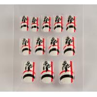 Acrylic safe Fingers Fake Nails Artificial Nail Art , wide fake nails