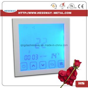 China Touchscreen Digital Room Thermostat for Air-Conditioning on sale