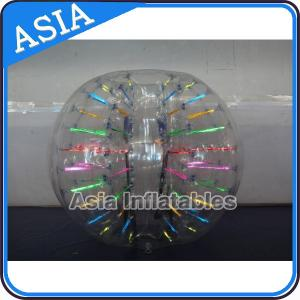 China Super 0.8mm Tpu Inflatable Body Bumper Ball For Football Competition on sale