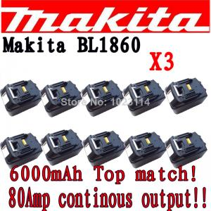 China best small rechargeable battery makita battery 18v bl1830 for drilling tool on sale